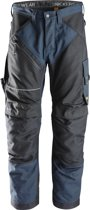 Snickers RuffWork werkbroek - 6303-9504 - blauw/zwart - mt.50