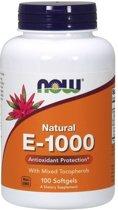 Now Foods, Vitamine E 1000 IU 100 softgels