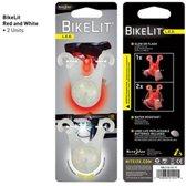 Nite Ize BikeLit White/Red 2Pack Fietsverlichting - Wit