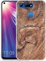 Huawei Honor View 20 Hoesje Boom doorsnede