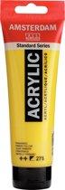 Amsterdam Standard acrylverf tube 120ml - Primair geel - halfdekkend