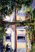 The House at Rueil by Edouard Manet - 1882