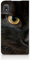 Samsung Galaxy A10 Hoesje maken Zwarte Kat