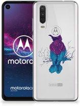 Motorola One Action Telefoonhoesje met Naam Merel