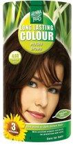 Hennaplus Long Lasting Colour 4.03 Mocha Brown - Haarverf