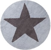 Reversible Stars - 100% katoen Blue/Dark grey