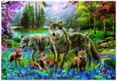 Educa Wolvenfamilie - 500 stukjes