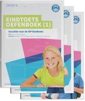 Eindtoets Oefenboeken Compleet Compleet pakket, delen 1, 2 en 3 - Gemengde opgaven - Groep 8 Opgaven voor Rekenen en Taal