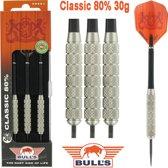 Bull's Classic 80% 30 gram Steeltip Dartpiljen