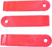 Roto Bandenlichter set nylon per 3 stuks rood