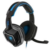 Spirit of Gamer - XPERT H500 Virtueel 7.1 Surround Sound Gaming Headset - Blauw