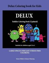 Delux Coloring Book for Kids