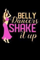 Belly Dancers Shake it Up: 2020 Weekly/Monthly Planner January to December