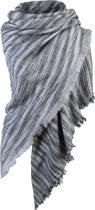 Sjaal Stripes zwart/grijs