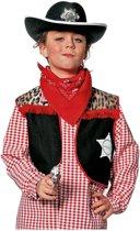 Carnavalskleding Cowboyvest jongen Maat 152