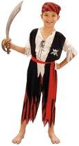 Voordelig piratenpak voor kinderen 110-122 (4-6 jaar)