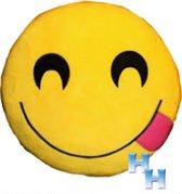 "Emoji -Emoticon -Knuffel -kussen -""tong lachen"""