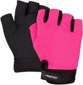 Avento Fitness Handschoenen Mesh - Roze/Grijs - S/M