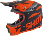 Shot Crosshelm Furious Score Black/Neon Orange Matt-M
