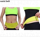 Afslank Sauna Body Shaper Band Voor Fitness Sports Yoga & Cycling