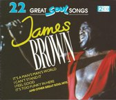 James Brown - 22 Great Soul Songs