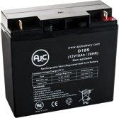 AJC® battery compatibel met Ritar 12V 18Ah Lood zuur accu