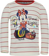 Minnie Mouse t-shirt wit/rood voor meisjes 116
