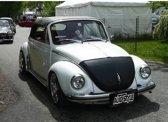 AutoStyle Motorkapsteenslaghoes Volkswagen Kever 1973-1974 zwart