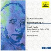 Haydn: String Quartets - Vol 4: Op 17, Nos 1-6