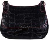Crossbody tas Daisy (zwart)
