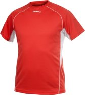 Craft T&F Tee Men bright red xs