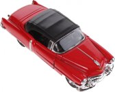Toi-toys Schaalmodel Cadillac 1953 Eldorado 1:34 Rood 11,5 Cm