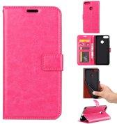 Huawei P10 Lite portemonnee hoesje - roze