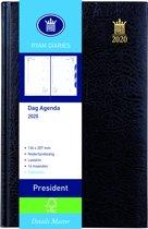 Ryam Agenda President 2019 (13x21cm) ZWART 1 dag per pagina