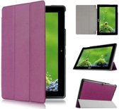 Acer Iconia Tab 10 A3-A30 Tri-Fold Book Case Paars