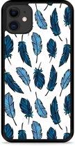 iPhone 11 Hardcase hoesje Feathers