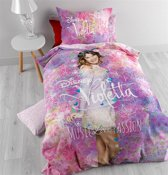 Disney Violetta Flora - Dekbedovertrek - Eenpersoons - 140 x 200 cm - Multi