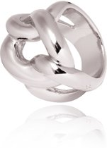 TOV Essentials Ring 1198.003.19 - Plain Gourmet Ring - 19 - Zilverkleurig