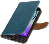 Samsung Galaxy A3 2017 A320F Blauw | Premium PU Leder bookstyle / book case/ wallet case  | WN™