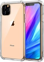 iPhone 11 Pro Hoesje Shock Proof Cover Siliconen Hoes Case Transparant