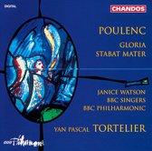 Poulenc: Gloria, Stabat Mater / Tortelier, Watson, et al
