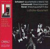 Lasalle Quartett Salzburg 1976
