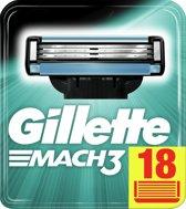 Gillette Mach3 - 18 stuks - Scheermesjes