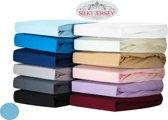 Silky Jersey - Zachte Jersey Hoeslakens 100% Katoen - 90x200x30 Hemmelblau