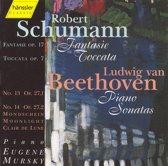 Beethoven: Sonatas 13 & 14;  Schumann: Fantasy, etc / Mursky