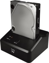 Eminent EM7011 - 3.0 Docking Station met USB - Zwart