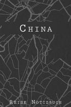 China Reise Notizbuch