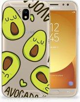 Samsung Galaxy J5 2017 Uniek TPU Hoesje Avocado Singing