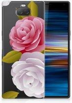 Sony Xperia 10 Uniek TPU Hoesje Roses