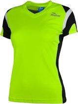 Rogelli Eabel Sportshirt - Maat L  - Vrouwen - geel/zwart